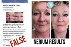 Nerium works, period! This is Colleen Mullally Brennan and she is with Nerium. Not who or what the ad on the left says! Not cool?! If you only gave Nerium 1 month, it's seriously time for a do over!!...