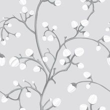 Tapetti - Willow Buds Grey