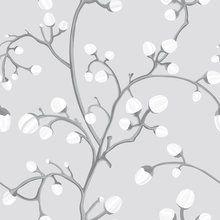 Tapetti - Willow Buds Grey