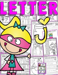 The Alphabet '/j/' booklet features interactive activities for the letter '/j/'. Students get to compile all activities in a booklet to take home. In addition, they craft a 'Letter '/j/' Champ' crown and wristband and put together a mini flipbook.  https://www.teacherspayteachers.com/Product/PHONICS-THE-ALPHABET-LETTER-J-2605862