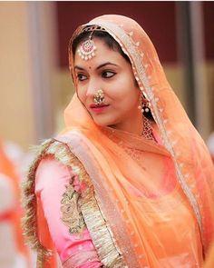 Best Rajasthani Poshak To Wear – Digital Manohar Rajasthani Bride, Rajasthani Dress, Royal Dresses, Indian Dresses, Rajputi Dress, Lehenga Gown, Indian Bridal Fashion, Bridal Photoshoot, Lehenga Designs