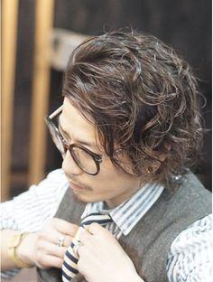Korean Men Hairstyle, Japanese Hairstyle, Permed Hairstyles, Cool Hairstyles, Medium Hair Styles, Long Hair Styles, Bohemian Hairstyles, Hair Cuts, Curly