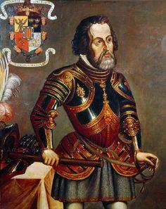 Dit is Hernan cortes hij ging zonder toestemming van velazquez in 1519 met 500 zwaarbewapende mannen naar Mexico om Mexico te veroveren   De nieuwe wereld: dat is de naam voor de ontdekte gebieden Noord, midden en Zuid Amerika