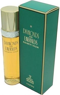 Diamonds And Emeralds By Elizabeth Taylor #emerald #coloroftheyear #musthave THE PERFUME KINGDOM