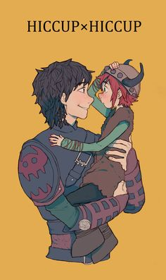 Hiccup and Hiccup AWWWWWWW