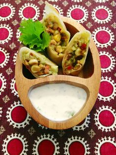 Avocado Egg Rolls with Greek Yogurt Dipping Sauce