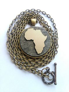 Africa Necklace Africa Jewelry African by UtopiaManufactory