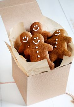 Soft and Chewy Gluten Free Gingerbread Men Cookies. So god, they're not just for the holidays!