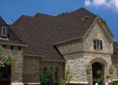 Gaf Timberline Hd Barkwood Shown For Color Roofing
