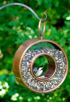 Fly-Through Bird Feeder ♥