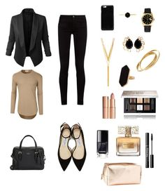 """""""Lawyer suit"""" by kayleegirl0822 on Polyvore featuring Gucci, Jupe de Abby, Jimmy Choo, Kate Spade, LE3NO, Maison Margiela, Rolex, Bounkit, Jaeger and BERRICLE"""