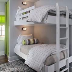Beach condo interior design by GLO.