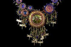 Damselfly Cascade Necklace