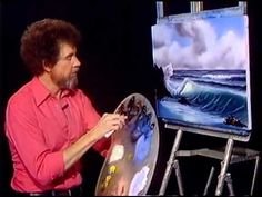 Bob Ross - Painting Surf's Up - Painting Video