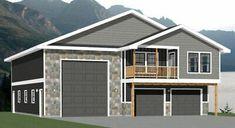 Rv Garage, Garage Apartment Plans, Garage Apartments, Garage House, Garage Plans, Shed Plans, Garage Doors, Tiny House Plans, House Floor Plans