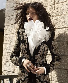 Laura James photographed by Azim Haidaryan for Elle US June 2016 Stylist: Simon Robins Hair: Charles McNair Makeup: Natasha Severino #inspiration #blog #blogger #tumblr #fashion #style #models #photography #vogue http://www.midnight-charm.com/