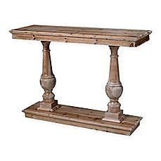 image of Sterling Industries Spring Creek Console Table in Wood Finish