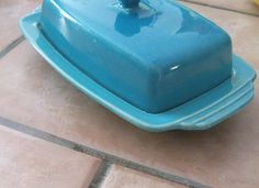 Homer Laughlin Riviera Butter Dish Vintage by monjardinVintage, $22.50
