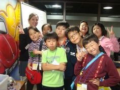 Teaching in Korea was SO much fun! Here is a picture of my students from SEV during game class. :) Want to learn how to Teach in South Korea, make money and travel the world? Visit www.howtoteachinkorea.com
