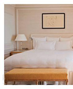 Smart, simply done bedroom  Interiors Magazine