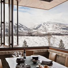 A Rustic and Refined Aspen Getaway : Architectural Digest