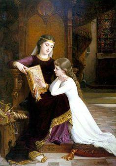 Émile Munier. Óleo sobre lienzo. Colección privada