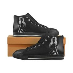 Secret Graffiti Girl Canvas High Tops