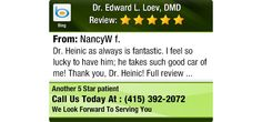 Dr. Heinic as always is fantastic. I feel so lucky to have him; he takes such good car of...