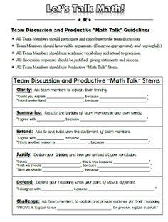 Let's Talk Math interactive notebook helper Teacher Blogs, Math Teacher, Math Classroom, Classroom Resources, Teaching Resources, Teaching Quotes, Teaching Math, Third Grade Math, Grade 2
