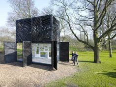 Noorderparkbar by Overtreders W and Bureau SLA - News - Frameweb. Mostly made out of ´left-overs´ of other projects!