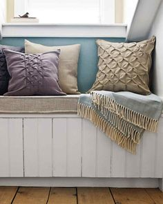 As the weather turns cold and you entertain friends and family indoors, try these simple and warm projects to make guests feel welcome and comfortable.