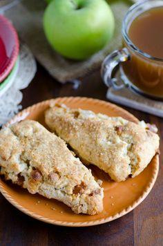 Apple Pie a la Mode Scones | Recipe