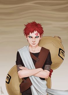 Gaara by merwild. Naruto fan art