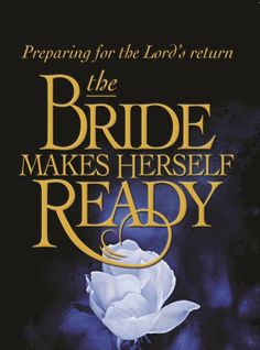 """She makes """"herself"""" ready, what are you doing to be ready? Anything at all?"""