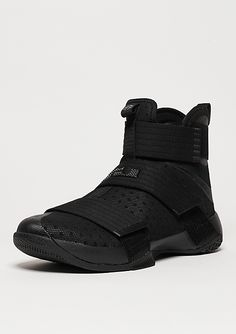 pretty nice c2374 de682 NIKE Basketballschuh LeBron Soldier 10 black black