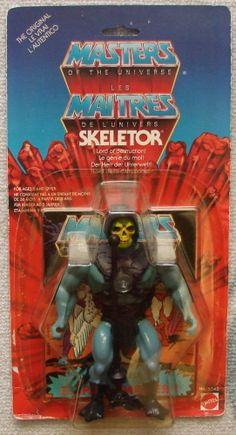 he man and the masters of the universe toys | MASTERS OF THE UNIVERSE : MOTU - EUROPEAN CARD SKELETOR FIGURE 1983 ...
