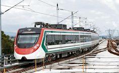 #DESTACADAS:  Prueban el tren más rápido de AL, de México a Toluca - El Universal