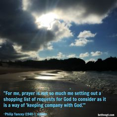 Beth K. Vogt | In Others' Words: Keeping Company with God…