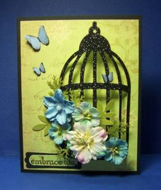 IC272 Bird Cage by jandjccc - Cards and Paper Crafts at Splitcoaststampers