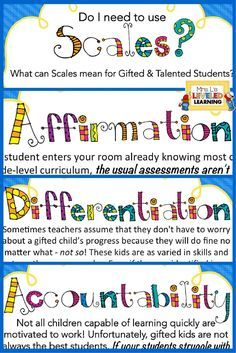 What can Marzano scales do for your gifted and talented kids? Understand how to encourage