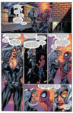 Spiderman Black Cat, Black Cat Marvel, Marvel Vs, Marvel Comics, Dc Comics Girls, Comics Love, Comic Book Characters, Comic Books, Amazing Spider