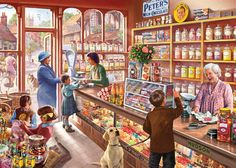 """Sweetshop"" - This delightful #bestseller is a trip down memory lane. Perfect for any #nostalgia lovers!"