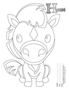 breyer horse coloring pages printable - photo#41