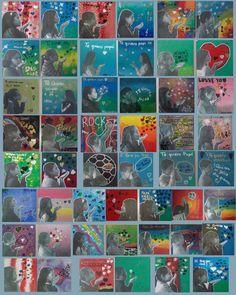 autoretratos pop art  niños collage  pop art portrait for kids