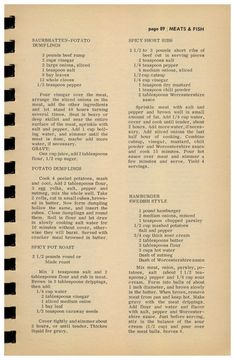 EUDAEMONIUS - Making it happen every day. — For Goodness Sake Cook Book Volume 1, 1965 -...