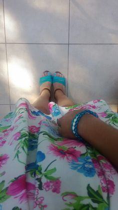 My favourite floral dress ;)