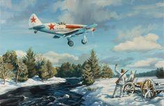 """МиГ - 3 """"За Родину"""" (Benjamin Freudenthal)"""