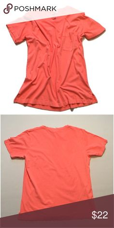 """PINK Victoria's Secret Cotton Tee Brand new with tag. Size large. 100% cotton. Bust approx 44"""" length approx 29"""" PINK Victoria's Secret Tops"""