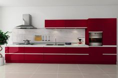 Untitled — Get Discount Kitchen Cabinets - 4 Tips To Help You Yellow Kitchen Designs, Simple Kitchen Design, White Kitchen Decor, Cozy Kitchen, Kitchen Interior, Discount Kitchen Cabinets, Modern Kitchen Cabinets, Modern Kitchens, Wood Cabinets