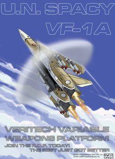 Robotech VF-1A UN Spacy by VulnePro on @DeviantArt